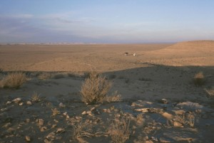Blick ins Sandmeer...