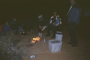 Silvester in der Wüste